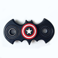 New Fidget Spinner Batman Shape Fidget Toy EDC Captain Hand Finger Spinner Relieve Stress Austism ADHD America Handspinner Toys