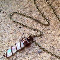 Angel Aura Crystal Necklace Healing Crystals and Stones Crystal Choker White Titanium Crystal Raw Crystal Choker Chakra Angel Aura Quartz