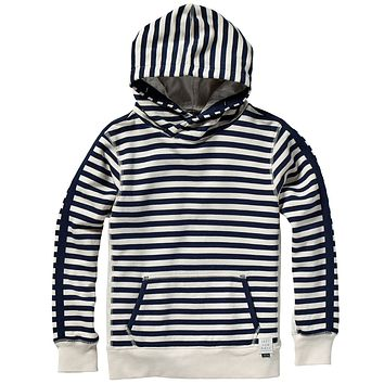 Scotch & Soda Boys Striped Hoodie