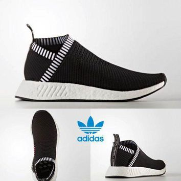 VONE05 ADIDAS NMD CS2 PK Unisex Running Shoes Sneakers Size 4-11 Black BA7188