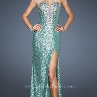 Mona Lisa Boutique | Prom Dresses | Mother of Bride formal gowns: Lafemme 18456