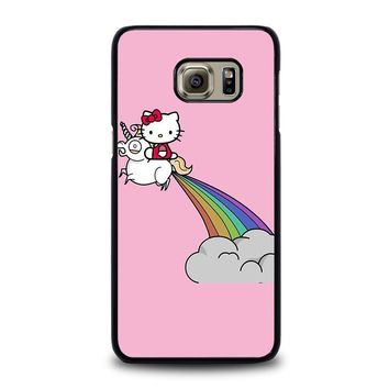 HELLO KITTY UNICORN Samsung Galaxy S6 Edge Plus Case Cover