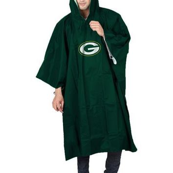Green Bay Packers Deluxe NFL Poncho