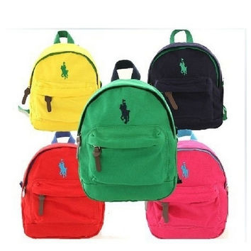 Korean version of the new the arrival baby backpack Boys girls candy-colored bags Kindergarten bags 4 colors-N5 = 1958229828