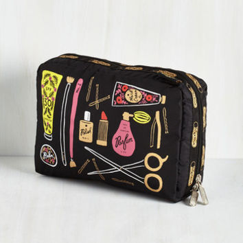 Travel The Cosmetic Connection Makeup Bag by LeSportsac from ModCloth