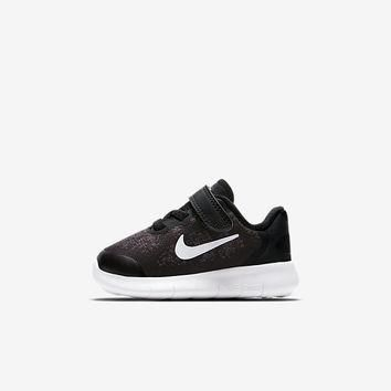 The Nike Free RN 2017 Infant/Toddler Shoe.