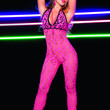 Sexy Hot Pink Catsuit Great For Rave Parties