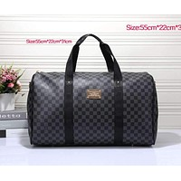 Louis Vuitton Women Travel Bag Leather Tote Handbag Shoulder Bag