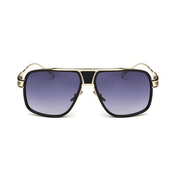 Men's Luxury Vintage Oversize Sunglasses