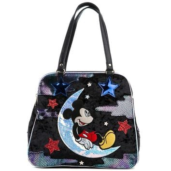 Irregular Choice Mickey Mouse & Friends Collection Women's Dreamy Mickey Black Bag