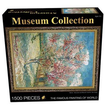 1500 Pcs/Set Puzzles Famous Painting of World Oil Painting Adult Kids DIY Jigsaw Puzzle Creativity Imagine Toys