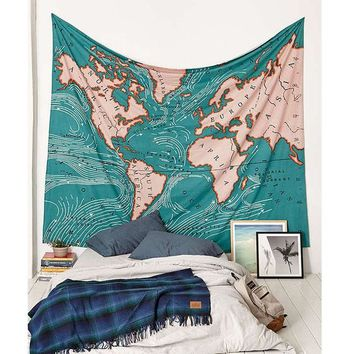 Green Map Tapestry