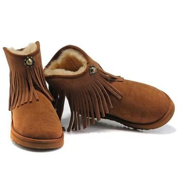 Cyber Monday Uggs Boots New Arrival 6803 Chestnut For Women 97 79