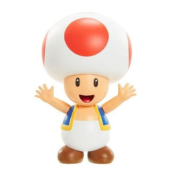 "Super Mario RED TOAD 2.5"" Mini Figure World of Nintendo"