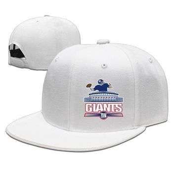 New York Giants Printed Unisex Adult Womens Hip-hop Caps Mens Baseball Hats