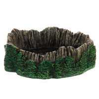 National Geographic™ Rainforest Log Reptile Bowl