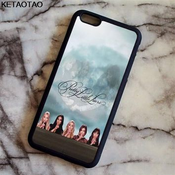 KETAOTAO Pretty Little Liars Lucy Hale Phone Cases for iPhone 4S 5C 5S 6 6S 7 8 Plus XR XS Max X Case Soft TPU Rubber Silicone