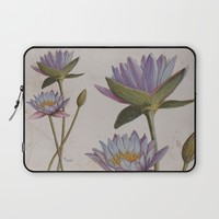 Lotus Laptop Sleeve by Savousepate