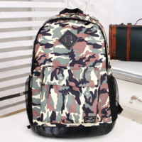 Large Camo Travel Bag Canvas Lightweight Backpack