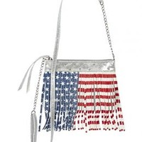 Stars & Stripes Fringe Crossbody Bag | Girls Bags & Luggage Accessories | Shop Justice