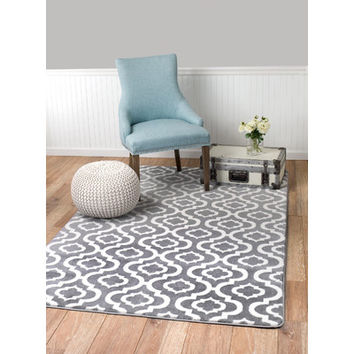 Rug and Decor Inc. Summit Grey Area Rug & Reviews | Wayfair