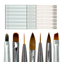 Crystal Nail Art Brush Set - Missu Beauty Network