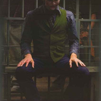 Batman Joker Jail Cell DC Comics Poster 22x34