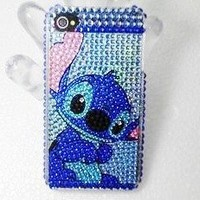 Apple iPhone 4G/4S Crystal Stitch Bling Bling Style Full Diamond Crystal Hard Case/Cover/Protector