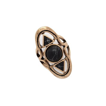 Faux Stone Ring