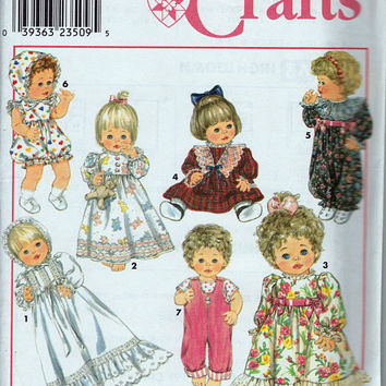 Pattern: Baby Doll Clothes including Christening Gown