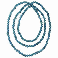 Faire Collection Acai Rope Necklace in Turquoise