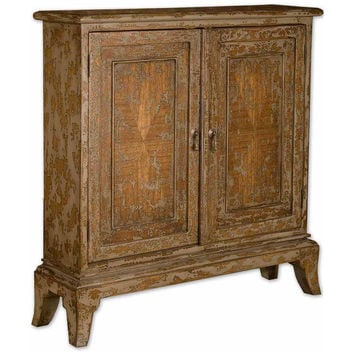 Maguire Distressed Console Cabinet