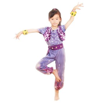 Shimmer and Shine Boxed Shimmer Dress Up Set Pre School Costume Girls Outfit cosplay costumes