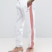 adidas Originals London Pack MDN Joggers In White BK7835 at asos.com
