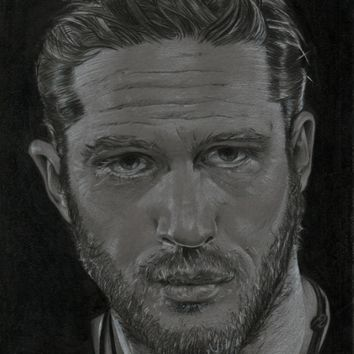 Tom Hardy Art Print by Cû3ik Designs | Society6