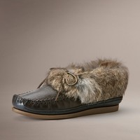 Smoke Mason Cuff Slipper by TheFryeCompany,