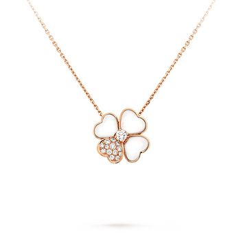 SALE  Cosmos Russian Lab Diamond Necklace