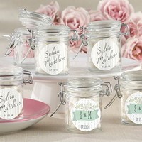 Opentip.com: Kate Aspen 27037NA-RW Personalized Glass Favor Jars - Kate's Rustic Wedding Collection (Set of 12)