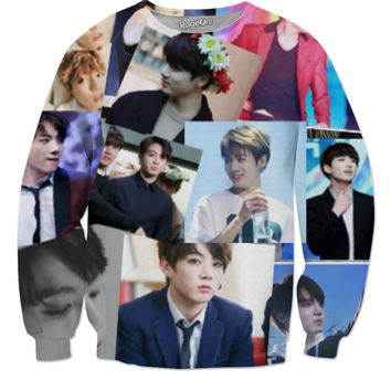 Bts Jungkook collage design sweater
