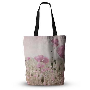 "Iris Lehnhardt ""Summer Dream"" Pink Floral Everything Tote Bag"