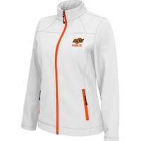 Colosseum Athletics Women's Oklahoma State Cowboys Warrior Softshell White Jacket | DICK'S Sporting Goods