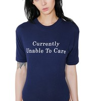 Unable To Care Bodysuit
