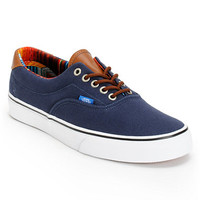 Vans Era 59 Dress Blue & Multi Stripe Shoe