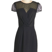 Kling LBD Mid-length Cap Sleeves A-line Nothing is Nicer Dress