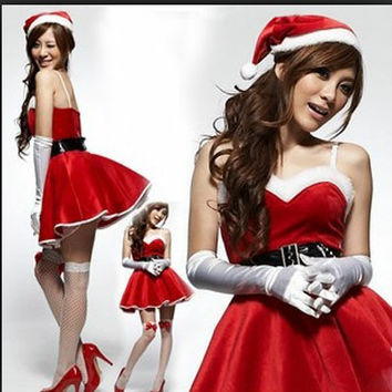 Women's Christmas Fancy Suit Costume Xmas Outfit = 4427553348