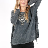 Taos Fringe Top