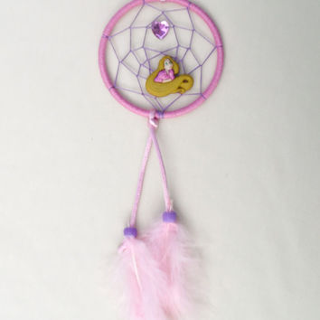 Disney inspired Rapunzel Dreamcatcher-Tangled small-kids-bedroom wall-decroration
