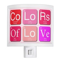 Colors Of Love Night Light