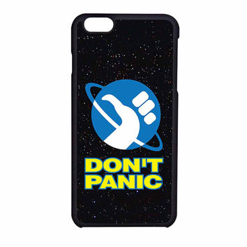 Hitchhikers Guide To The Galaxy Dont Panic S5 iPhone 6 Case