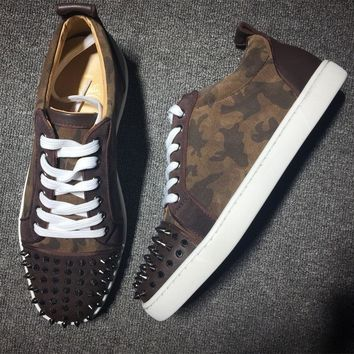 Christian Louboutin CL Style #2026 Sneakers Fashion Shoes Best Deal Online